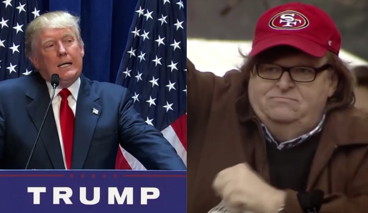Michael Moore vs. Donald Trump