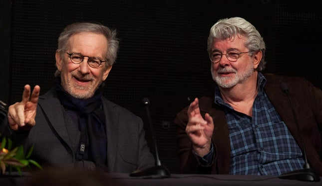 Spielberg e Lucas anunciam o apocalipse do cinema