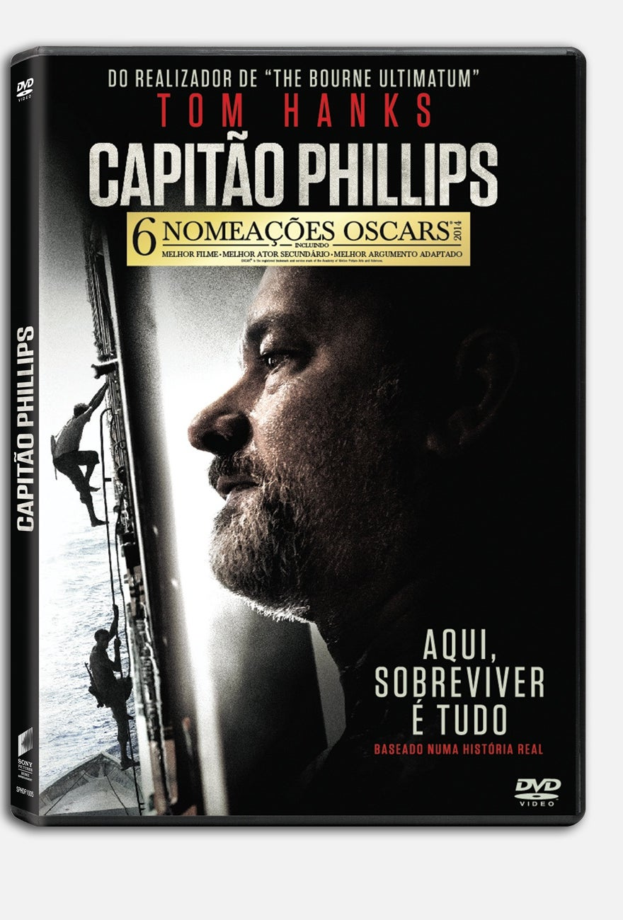 DVD Capitão Phillips: contemplados