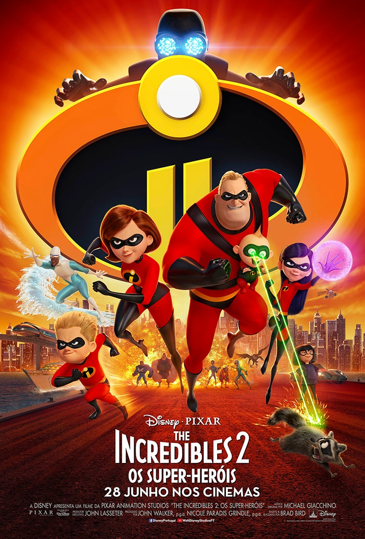 Antestreia: The Incredibles 2 - Os Super-Heróis