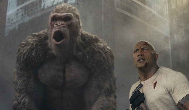 Rampage assume liderança no box office português