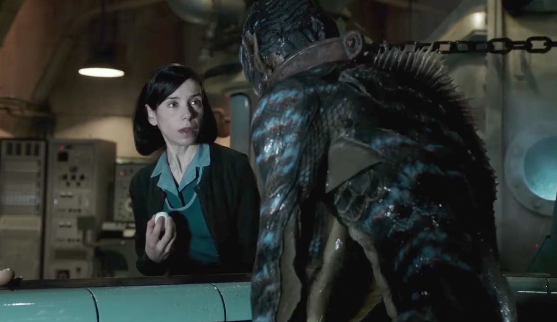 The Shape of Water de Guillermo del Toro ganha Festival de Veneza