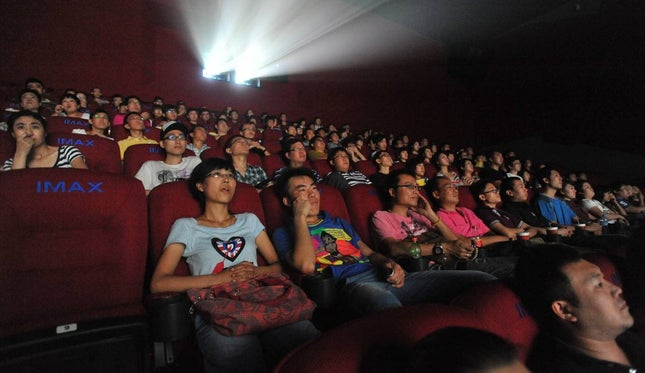 Quase 500 salas de cinema reabriram na China