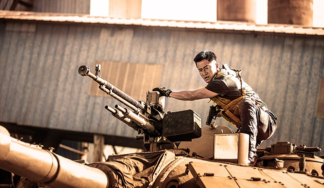 Produção chinesa Wolf Warriors 2 continua à frente do box office mundial