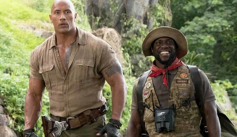 Jumanji sem rivais no box office mundial