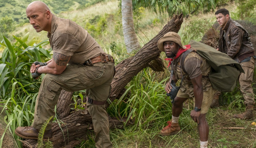 Jumanji lidera box office mundial