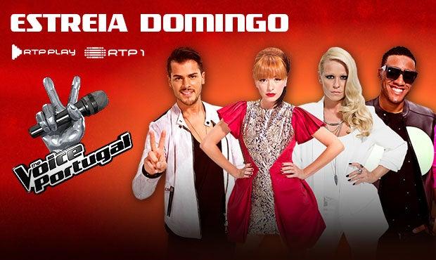 RTP1 - The Voice Portugal - estreia domingo