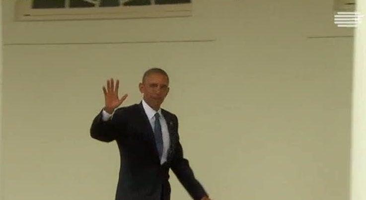 Mundo - Barack Obama despediu-se da Casa Branca