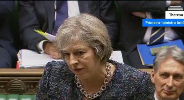 Mundo - Mercados internacionais valorizam Libra após discurso de Theresa May