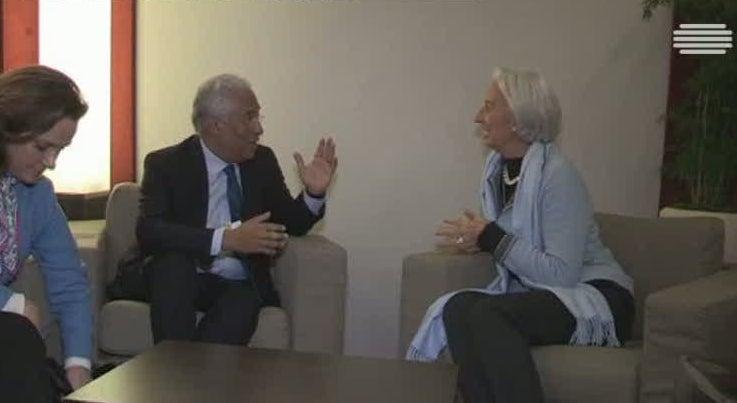 Economia - Christine Lagarde felicita António Costa pelos resultados económicos