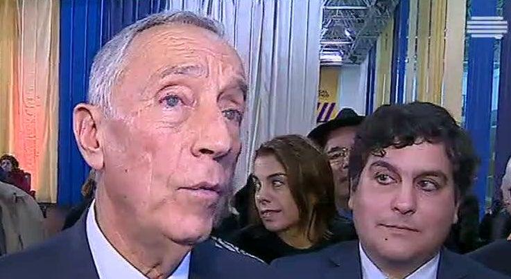 Marcelo diz que Portugal continua a viver sem crispação política