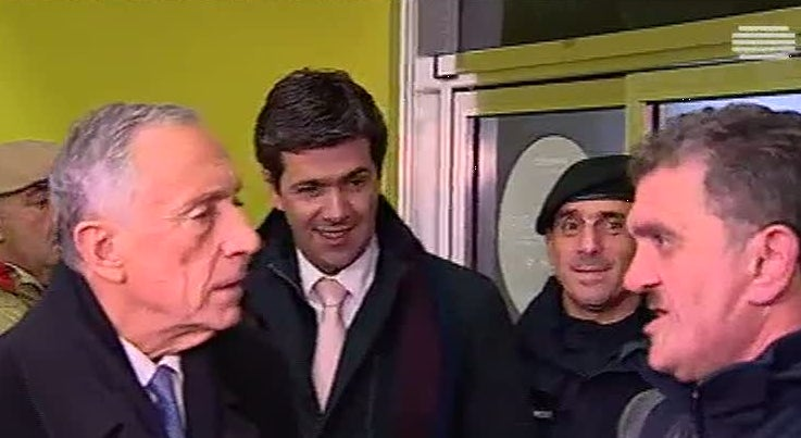 País - Marcelo visita Casal Vistoso que acolhe sem-abrigo de Lisboa