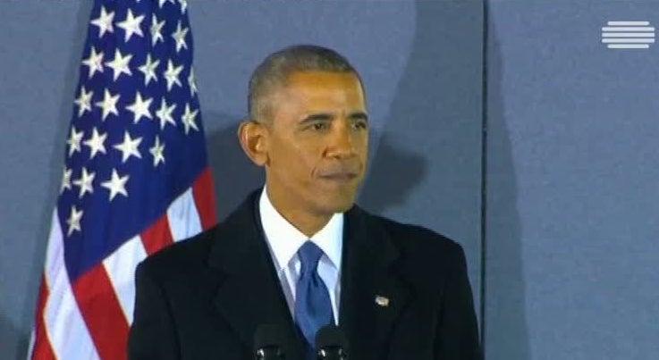 Mundo - Obama despediu-se com um discurso para o coração da América