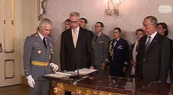 General José Nunes da Fonseca é o novo chefe do Estado-Maior do Exército
