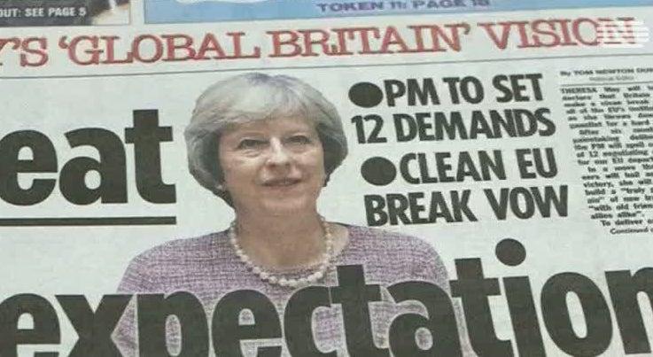 Mundo - Brexit começa em Março