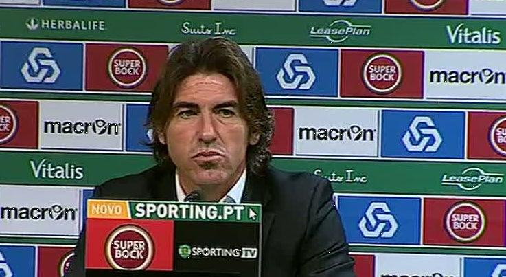 Desporto - S� Pinto considera injusta derrota do Belenenses em Alvalade