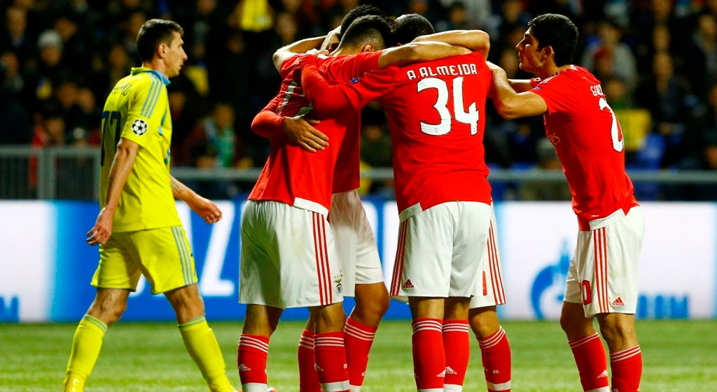Liga dos Campe�es - Benfica apurado para os oitavos da Liga dos Campe�es