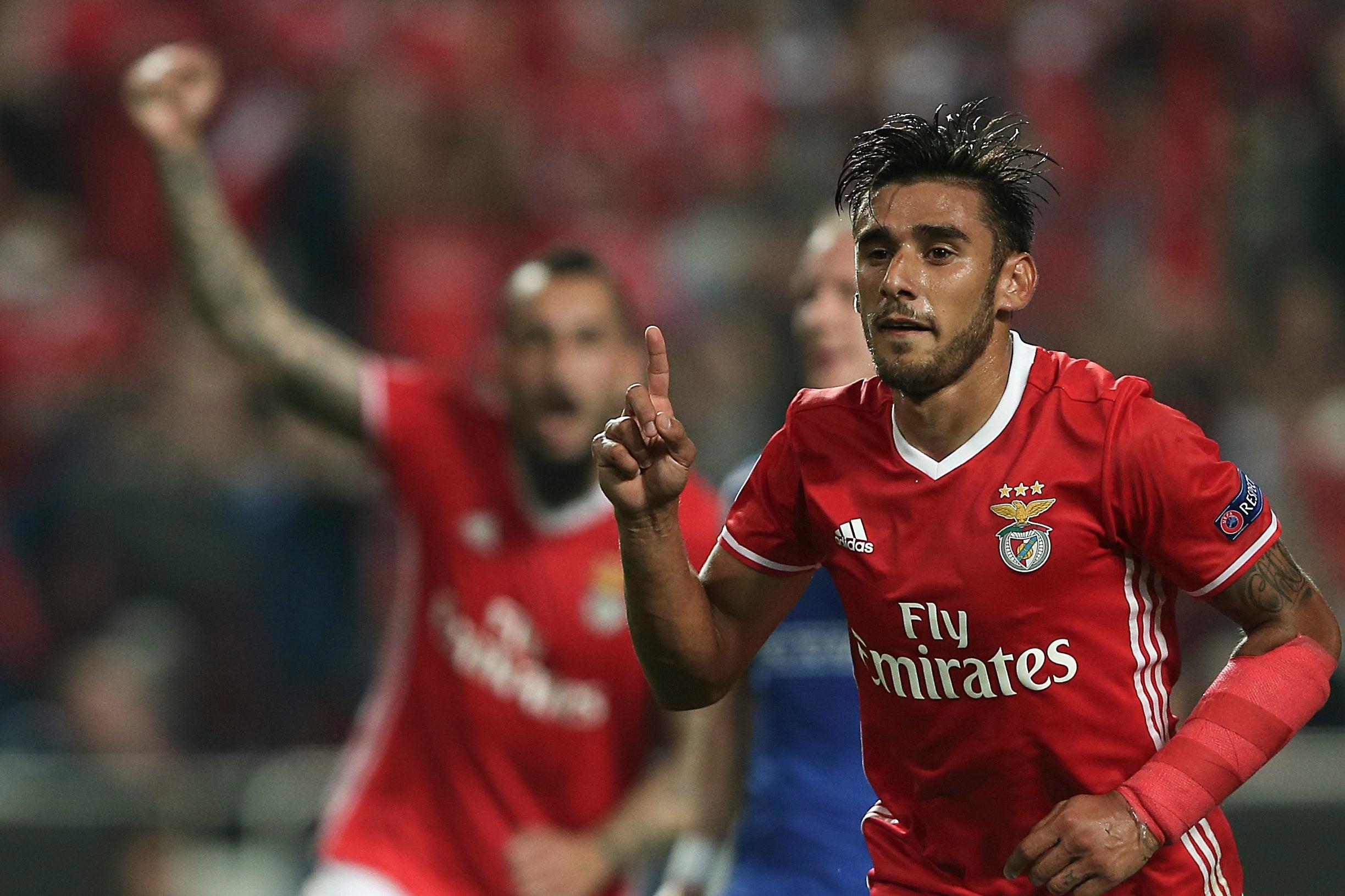 Grimaldo descarta favoritismo do Benfica em Basileia