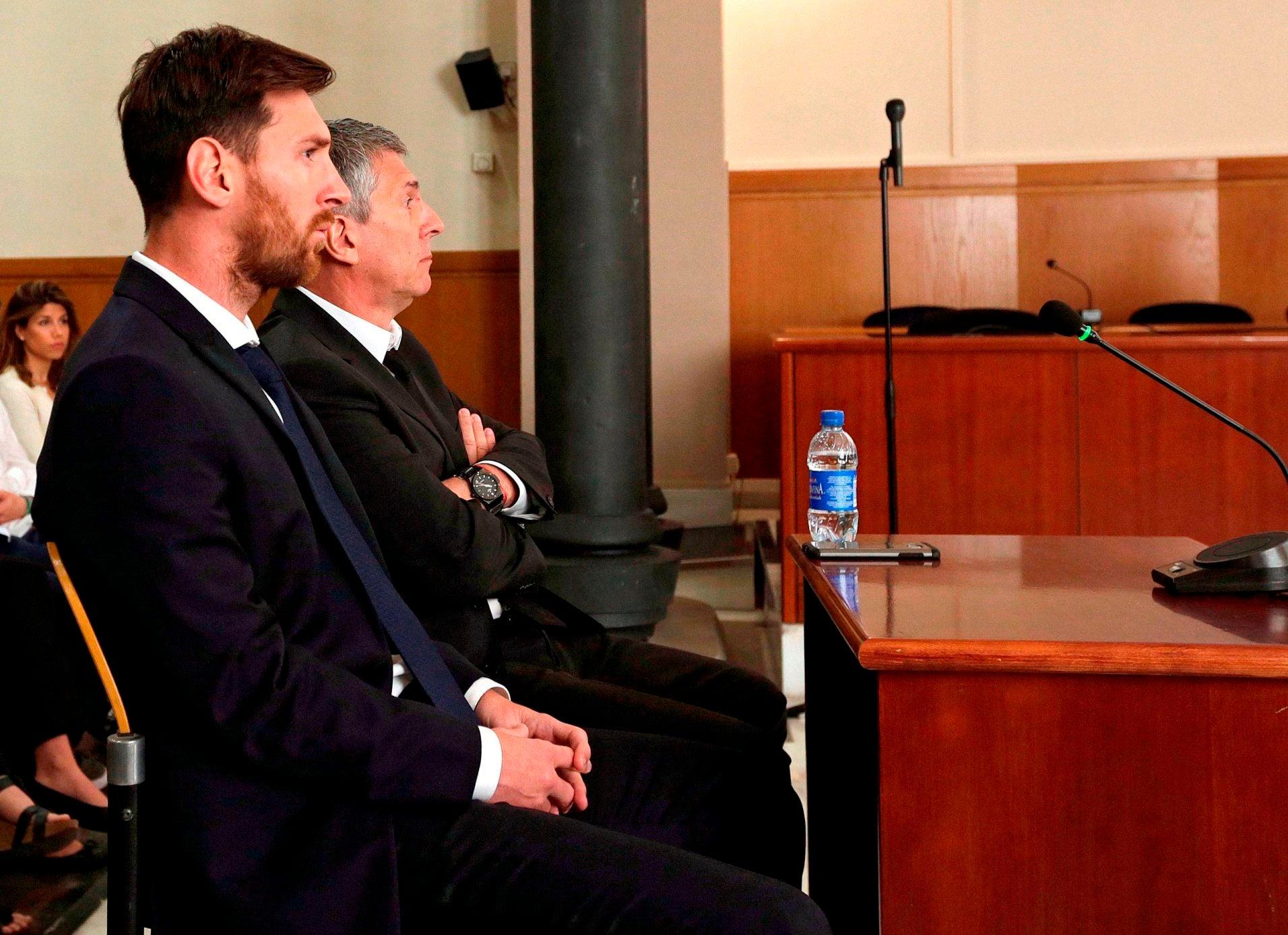 Tribunal da Espanha confirma condenação de Messi por fraude