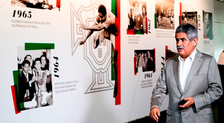 Luís Filipe Vieira foi suspenso por lesar honra de João Ferreira