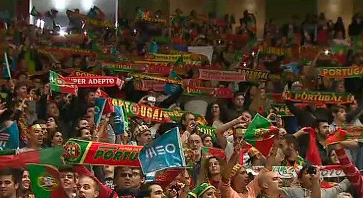 Portugal ganhou em Braga em ambiente de festa