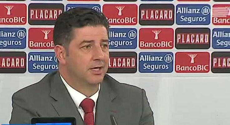 Rui Vitória enalteceu a exibição bem conseguida dos jogadores do Benfica