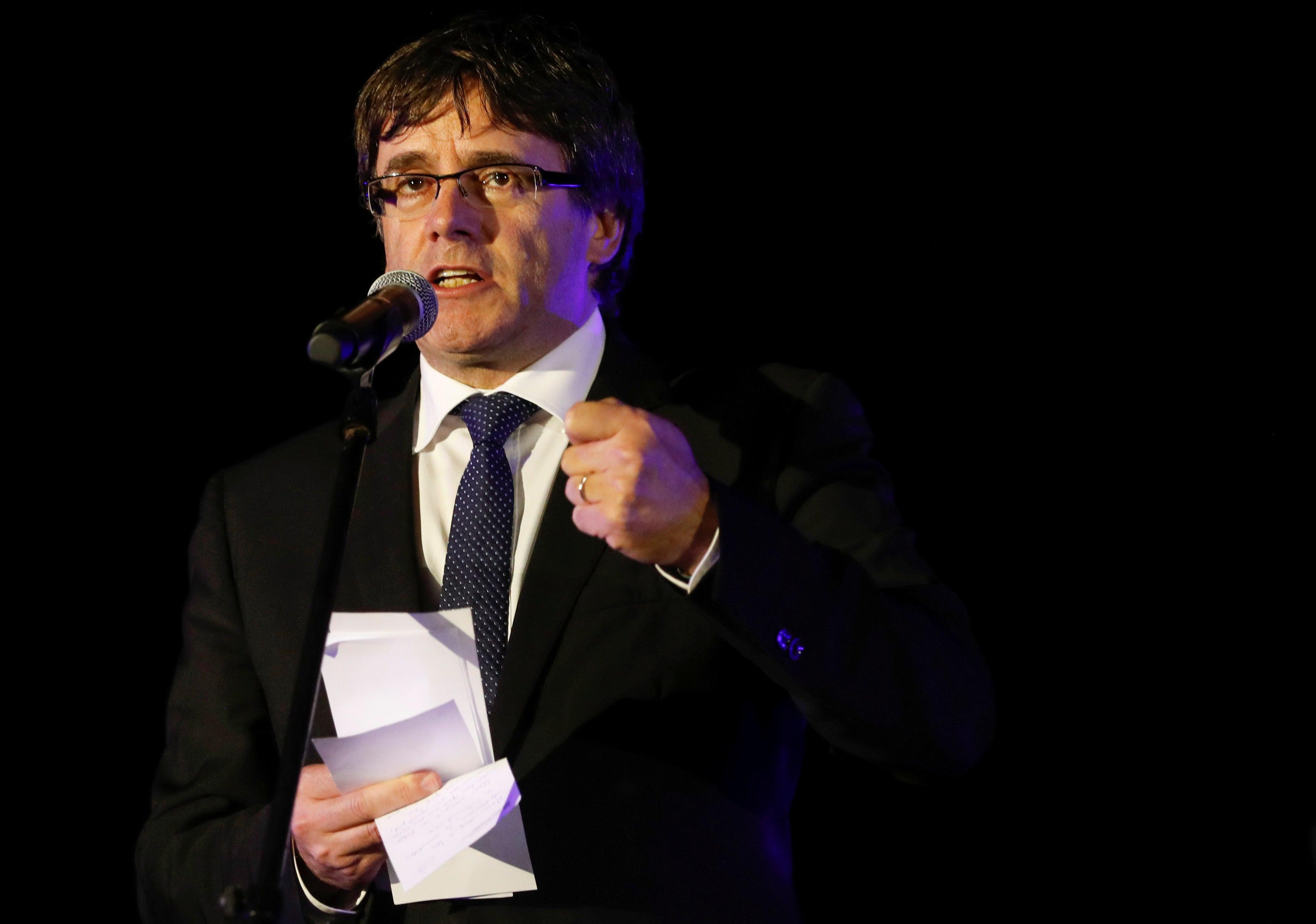 Chefe do Governo catalão faz declaração esta noite