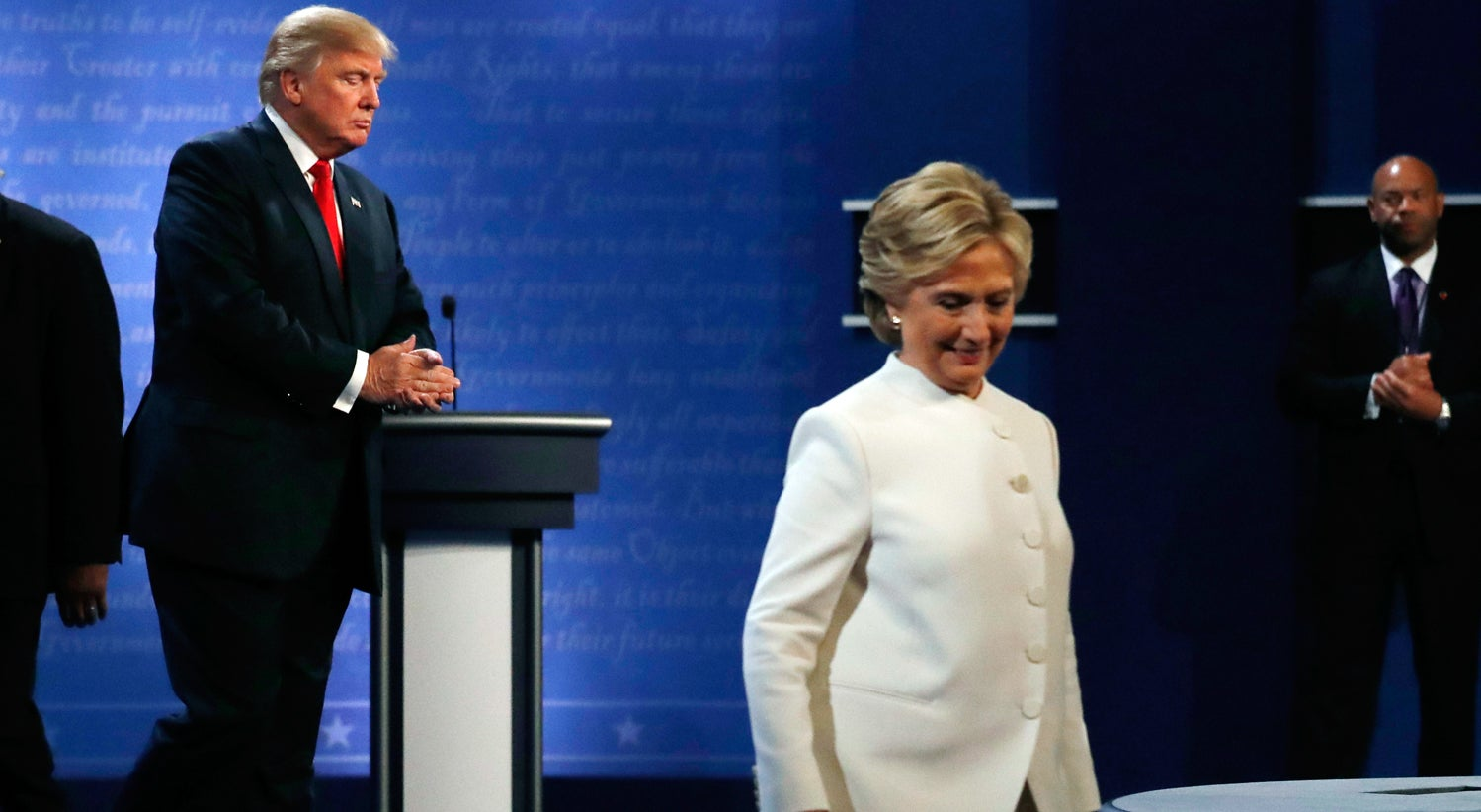 Trump em baixa, Hillary em alta: estar� a corrida fechada?