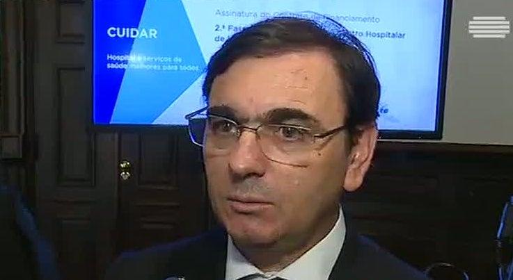 Pa�s - Ministro da Sa�de garante conclus�o de obras no Hospital de Gaia
