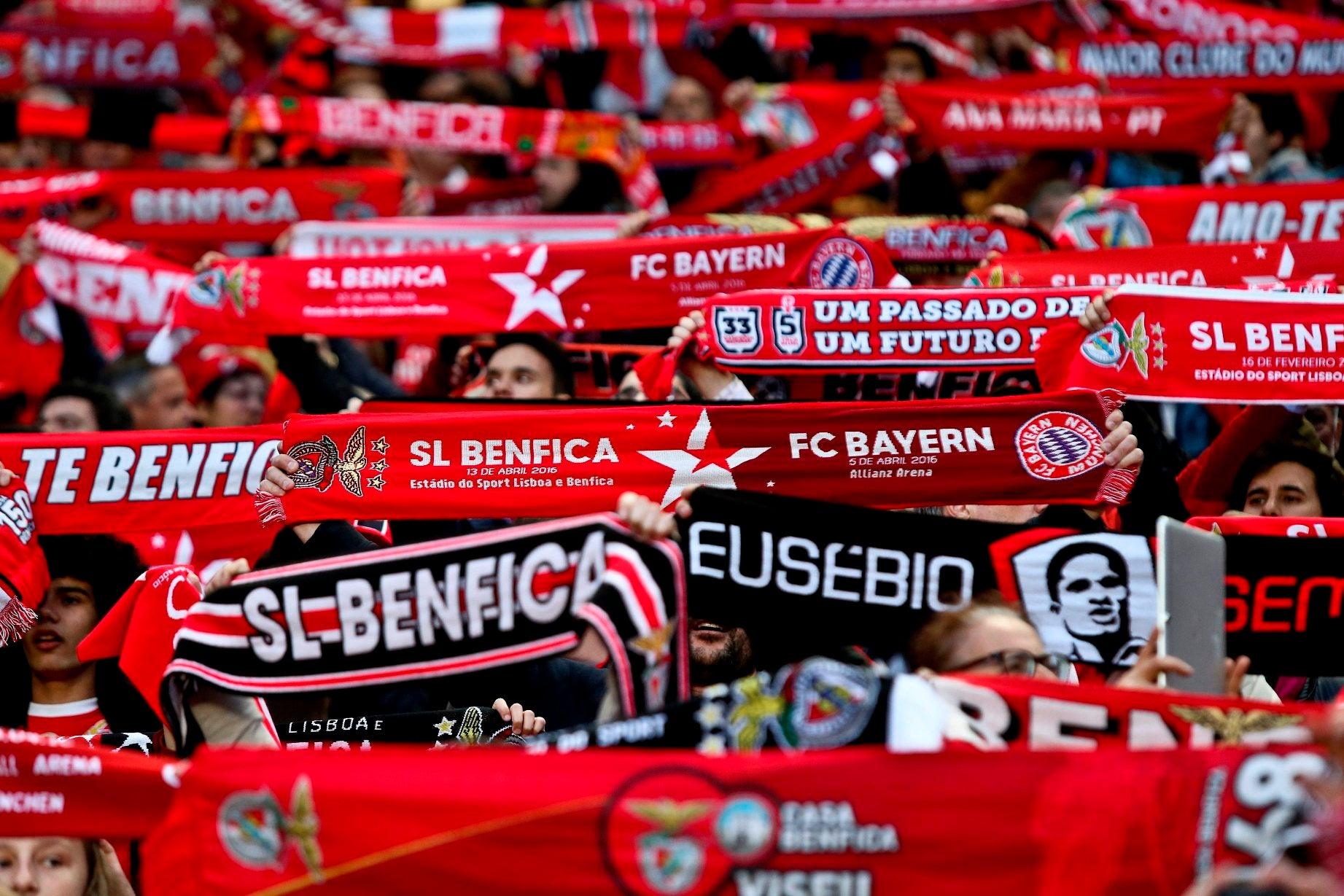 Benfica foi o campeão na Europa com mais lucro