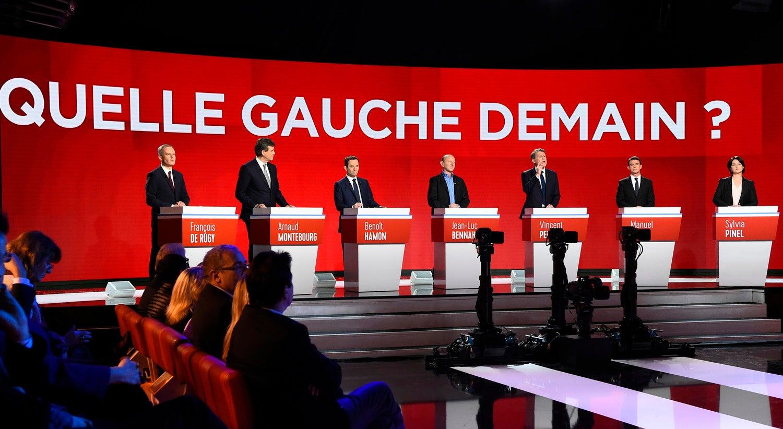 Esquerda francesa à procura de um lugar na segunda volta. Quem são os candidatos?