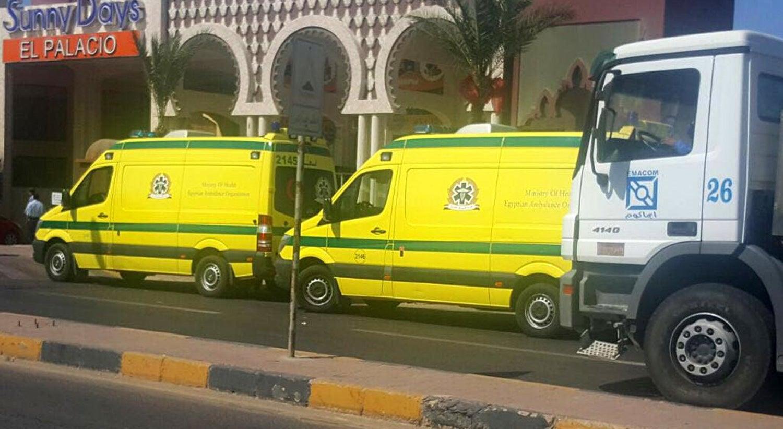 Ataque em resort egípcio faz dois mortos