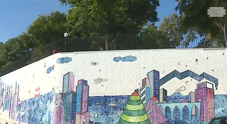 Cultura - Novo painel de azulejos em Lisboa