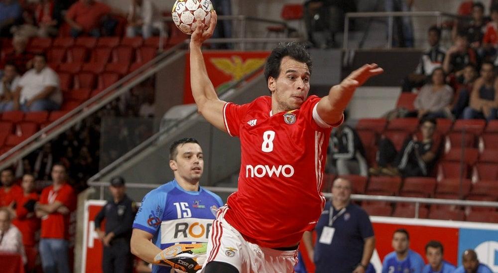 Benfica quer recuperar desvantagem na Taça EHF