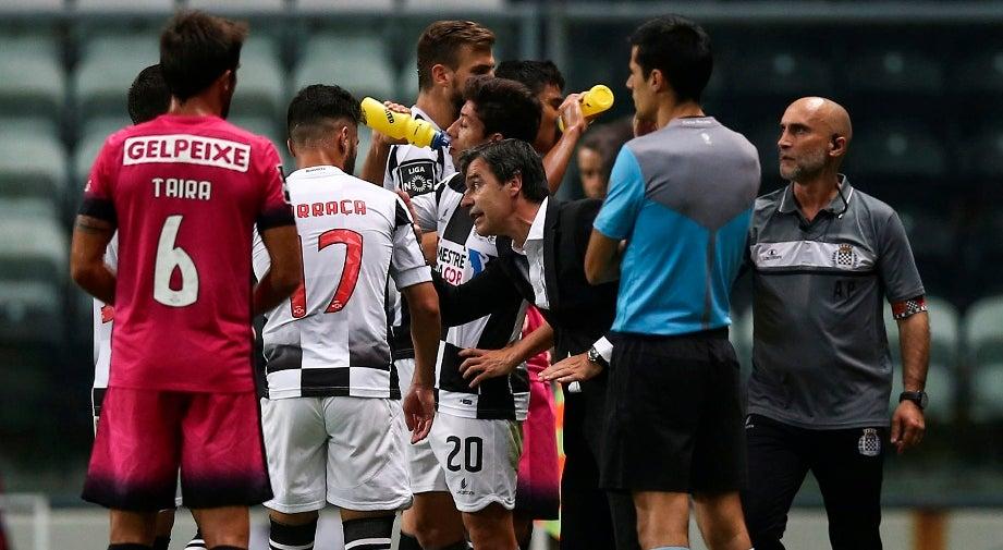 Treinador do Boavista desconhece regresso de Iuri Medeiros ao Sporting