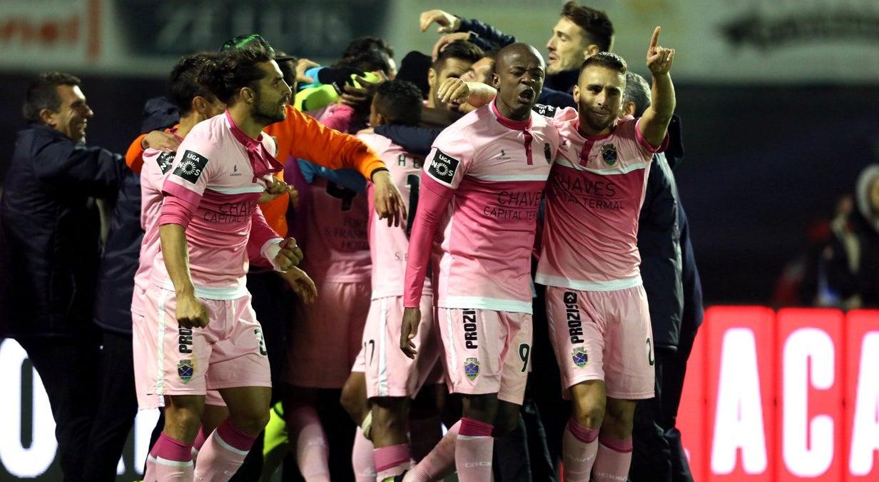 Chaves deixa FC Porto pelo caminho na Taça de Portugal