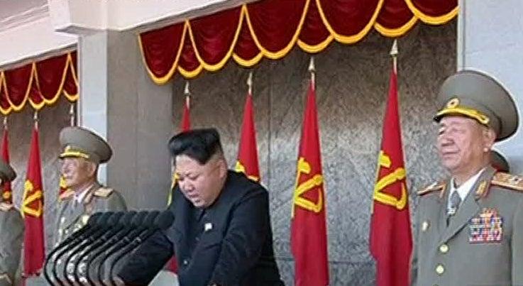 L�der da Coreia do Norte diz que est� pronto para enfrentar os Estados Unidos