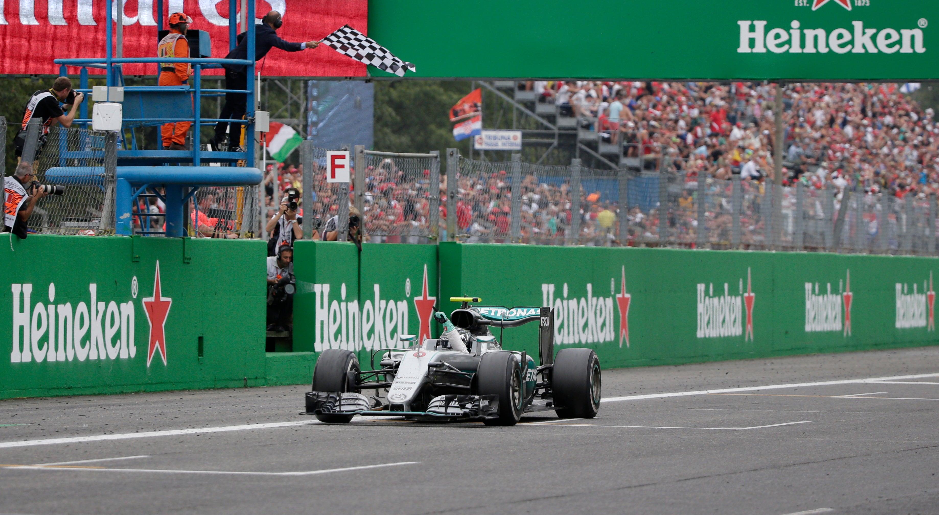 Rosberg Conquista Monza e Mundial ao Rubro