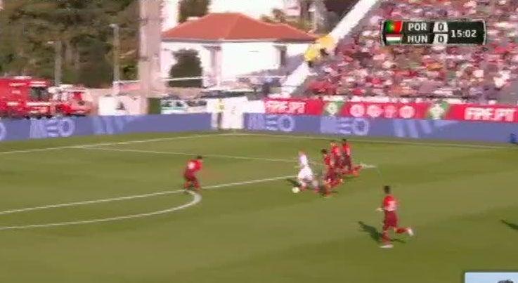 Sele��o nacional de Sub 21 venceu a Hungria por 2-0.
