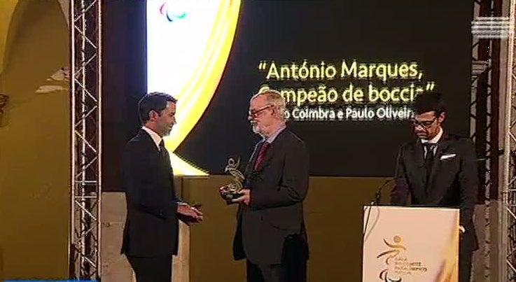 Cultura - Reportagem da RTP premiada pelo Comité Paralímpico de Portugal