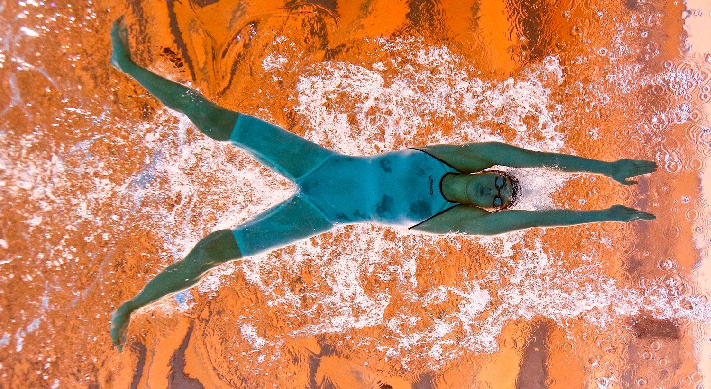 Victoria Kaminskaya estabelece novo recorde nacional dos 400 metros estilos