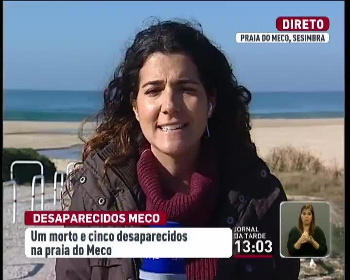 Trag�dia na praia do Meco