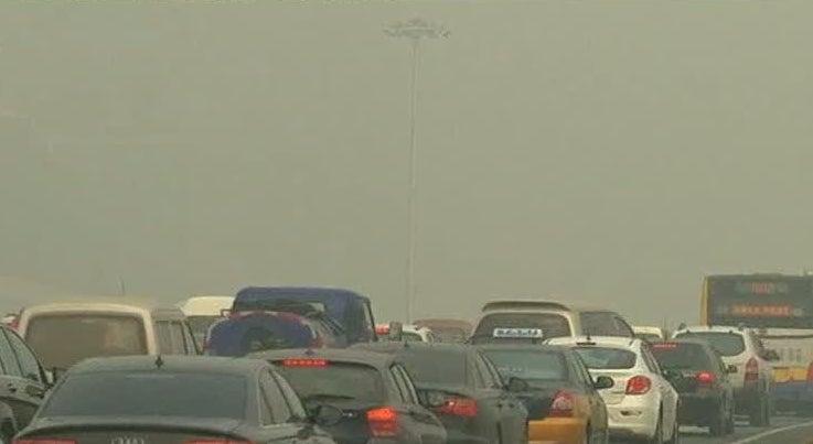 Mundo - Norte da China em alerta m�ximo devido ao smog