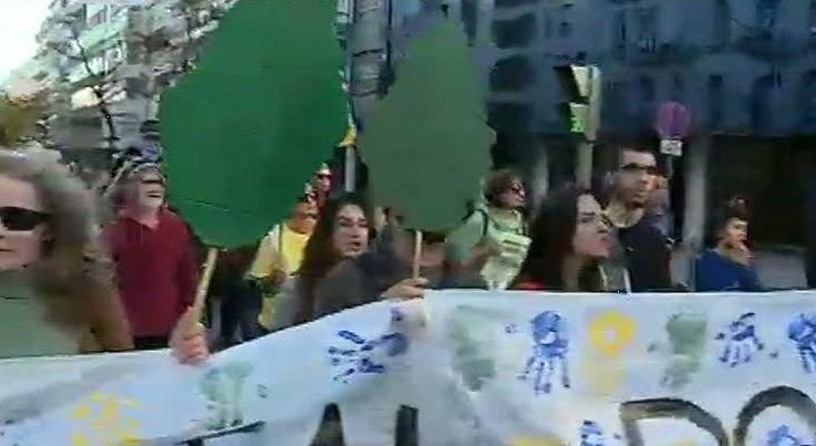Pa�s - Manifesta��o em Lisboa pede um acordo em Paris na Cimeira do Clima