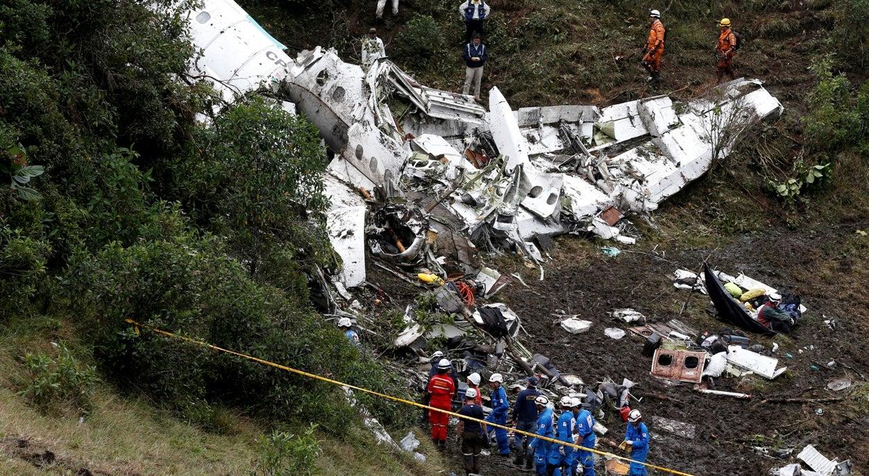 Piloto solicita descida imediata momentos antes do acidente
