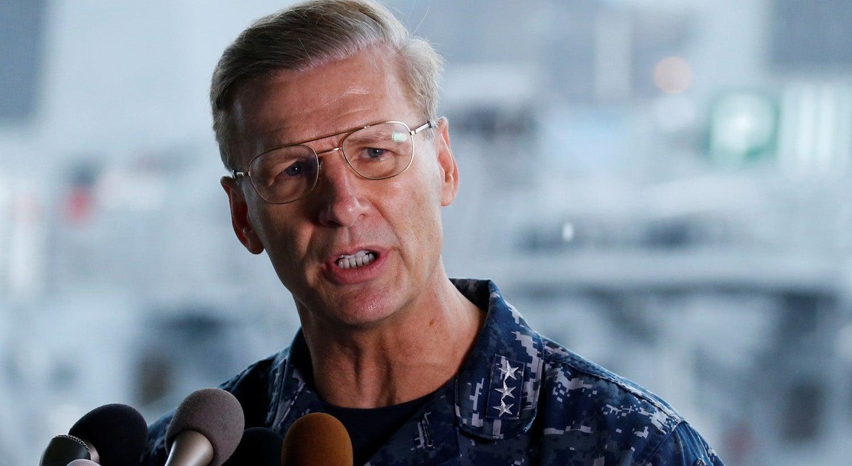 Fontes oficiais referem afastamento do comandante da 7.ª Esquadra dos EUA