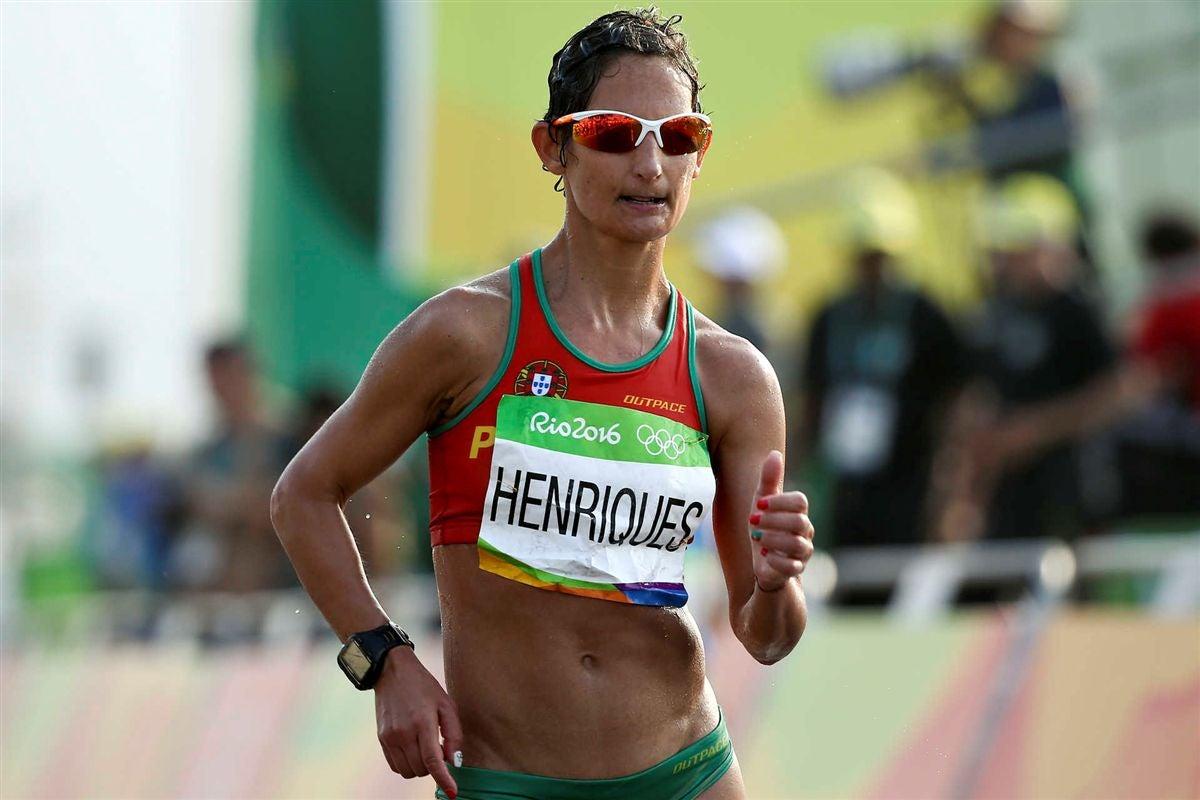 Ouro e recorde do mundo nos 50 km Marcha — Inês Henriques