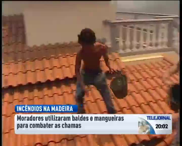Inc�ndios na Madeira j� destru�ram dezenas de casas