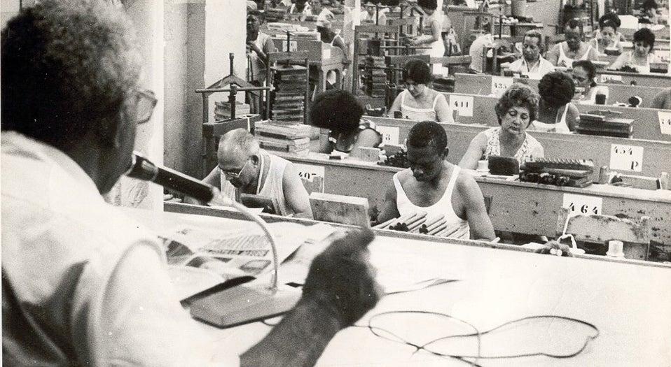 Cuba reconhece o leitor de tabaqueira como patrim�nio cultural
