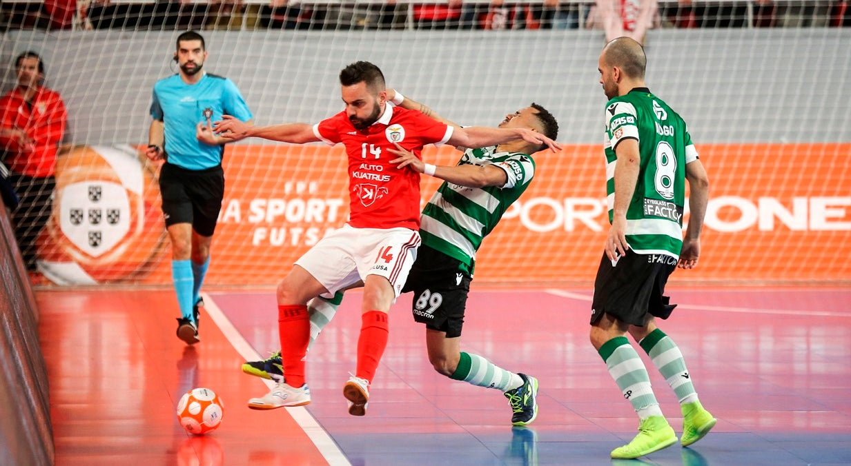 Benfica vence Fundão e encontra Sporting na final do Nacional de futsal